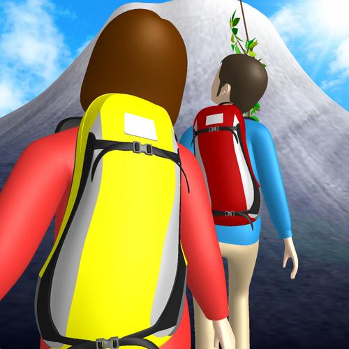 富士山へ登る