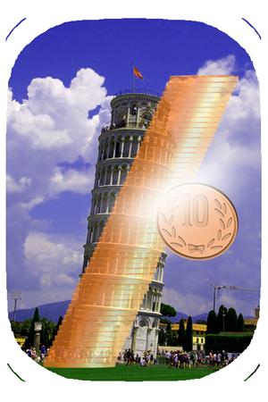 ピサの斜塔,倒れない,なぜ,理由,傾いている,構造