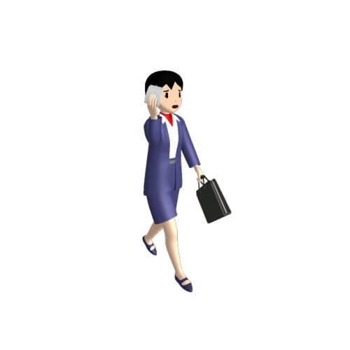 女性営業員